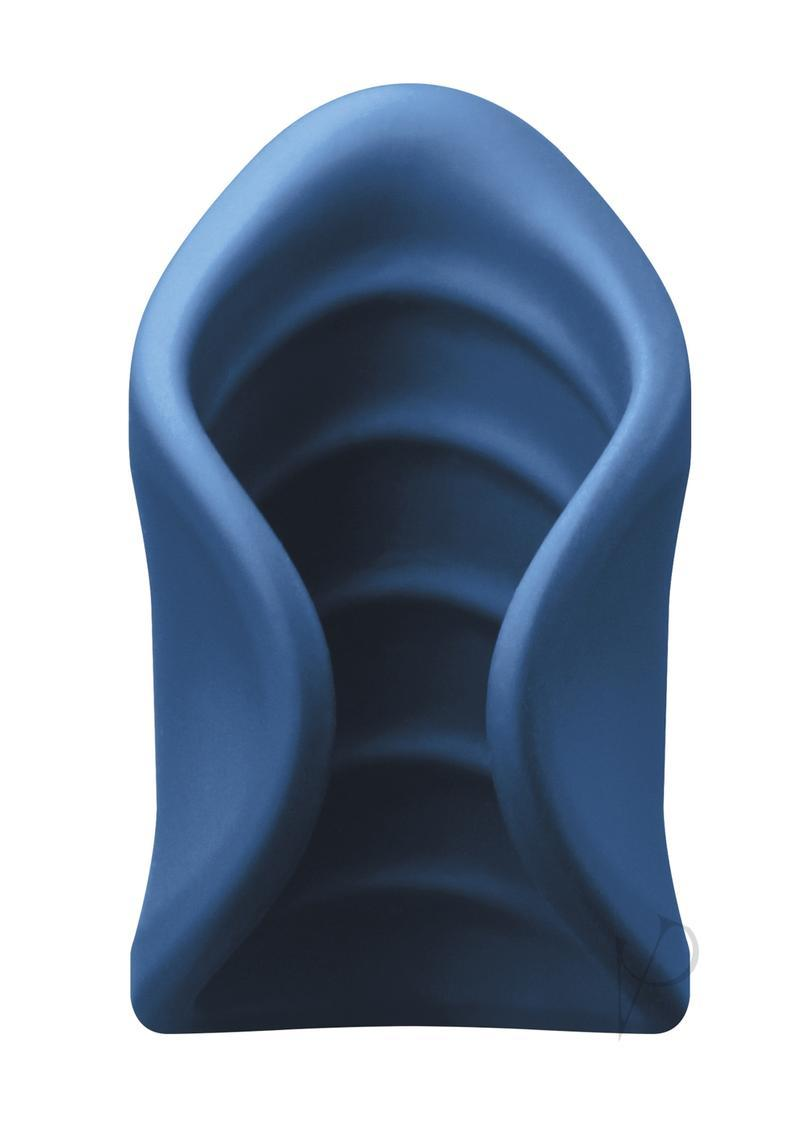 Renegade El Ray Pocket Stroker Blue Male Masturbator Non Vibrating Textured